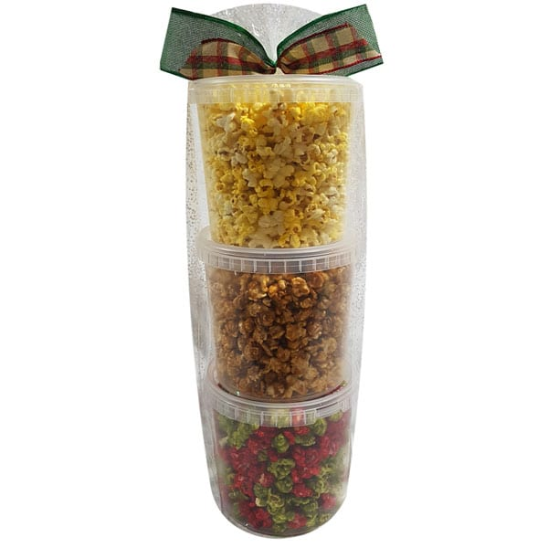 Christmas Popcorn Tower