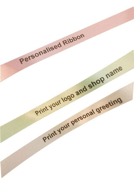 imprinted ribbon