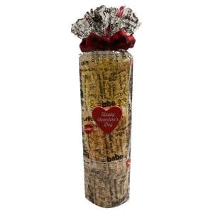 Valentine's Day Popcorn Tower