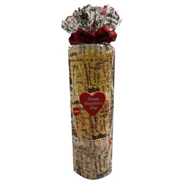 Valentine's Day Popcorn Tower