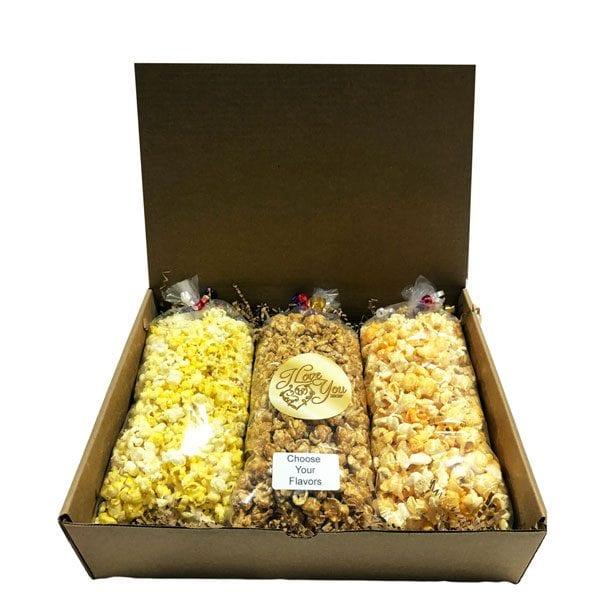 I Love You Popcorn Trio