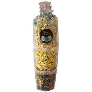 Easter Popcorn Tower