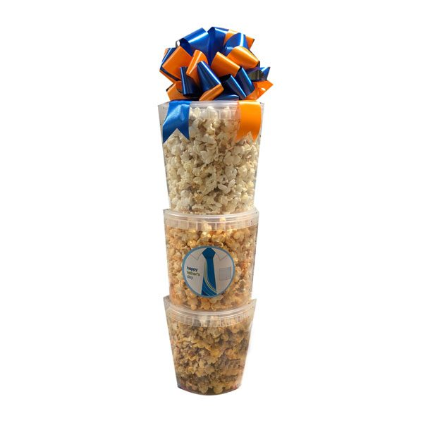 Father's Day Popcorn Tower