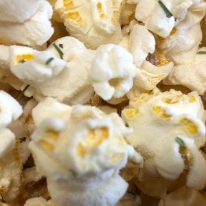 Sour Cream and Chives Seasoned Popcorn